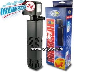 AQUA NOVA FILTR WEWNETRZNY NBF-1200 l/h - Wydajny filtr do akwarium do 200L o mocy 25W