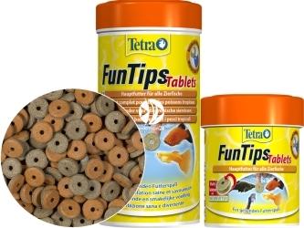 TETRA FunTips Tablets (T111172) - Pokarm w tabletkach przyczepiany do szyb akwarium.