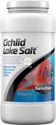 SEACHEM Cichlid Lake Salt 500g (SCHM043) - Sól do akwarium z pielęgnicami z biotopów Malawi, Tanganika, Victoria