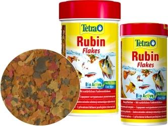 TETRA Rubin Flakes (T139831) - Płatkowany pokarm wybarwiający dla ryb do akwarium.