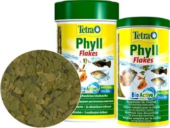 TETRA Phyll Flakes (T139954) - Pokarm w płatkach dla ryb roślinożernych.