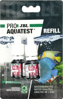 JBL Uzupełnienie testu na NO2 (Azotyny) (24124) - Odczynniki uzupełniające test NO2