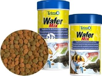 TETRA Wafer Mix (T140066) - Pokarm w waflach dla ryb dennych i skorupiaków.