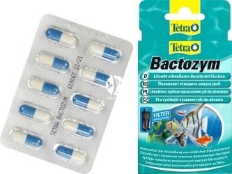 TETRA Bactozym 10kps. (T140257) - Preparat bakteryjny przyspieszający aktywację biologiczną akwarium.
