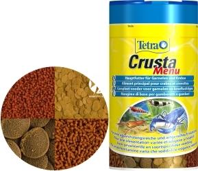 TETRA Crusta Menu 100ml (T171794) - Zestaw 4 pokarmów dla krewetek i krabów w puszce.
