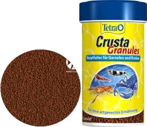 TETRA Crusta Granules 100 ml (T187160) - Pokarm podstawowy w formie tonących granulek dla krewetek i krabów.