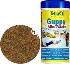 TETRA Guppy Mini Flakes 250 ml (T197237) - Płatkowany pokarm podstawowy dla gupików