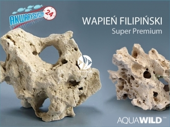 AQUAWILD WAPIEŃ FILIPIŃSKI | Wysokiej jakości drążona skała do akwarium