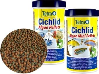 TETRA Cichlid Algae Pellets (T197466) - Podstawowy pokarm granulowany dla pielęgnic.