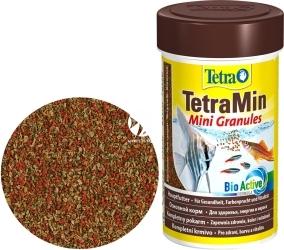 TETRA TetraMin Mini Granules 100ml (T199057) - Tonący pokarm granulowany dla ryb kąsaczowatych i brzanek.