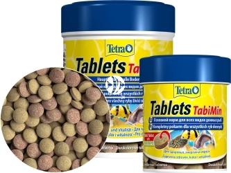 TETRA Tablets TabiMin (T199231) - Tonący pokarm dla ryb dennych.