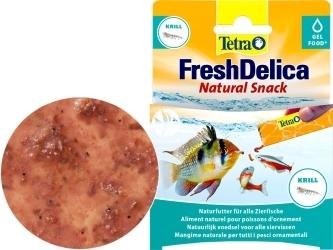 TETRA FreshDelica Krill 48 g (T236707) - Pokarm z krylem w zwitaminizowanym żelu.