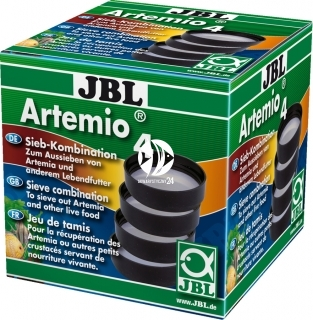 JBL Artemio 4 (61064) - Zestaw 4 sit do artemii i żywego pokarmu dla ryb akwariowych.
