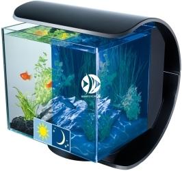 TETRA Silhouette LED Aquarium 12L (T246256) - Zestaw nano akwarium o pojemności 12l z panelem filtracyjnym.