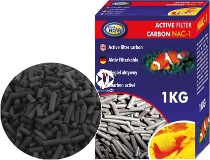 AQUA NOVA Active Filter Carbon (NAC-0.5) - Węgiel aktywny, wkład do filtra oczyszczający i klarujący wodę.