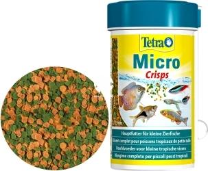 TETRA Micro Crisps 100 ml (T277557) - Pływający pokarm dla małych ryb tropikalnych.
