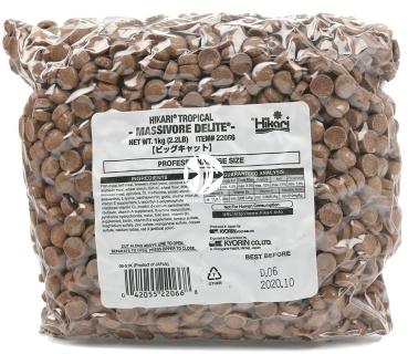 HIKARI Massivore Delite (22036) - Pokarm tonący dla mięsożernych ryb dennych i wodnych potworów.