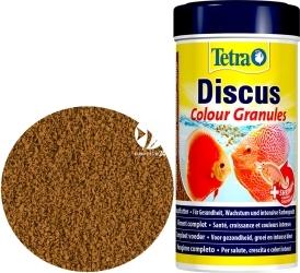 TETRA Discus Colour 250 ml (T758513) - Pokarm wybarwiający w granulkach dla dyskowców.