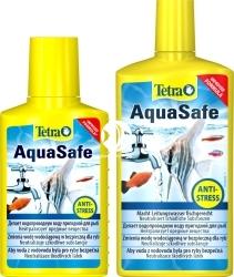 TETRA AquaSafe (T762732) - Środek uzdatniający wodę wodociągową do użytku w akwarium.