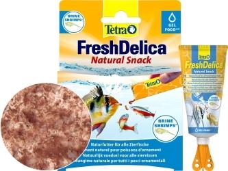 TETRA FreshDelica Brine Shrimps (T768673) - Naturalna przekąska z artemii w zwitaminizowanym żelu.