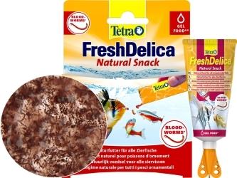 TETRA FreshDelica Bloodworms (T768741) - Naturalna przekąska z ochotki w zwitaminizowanym żelu.