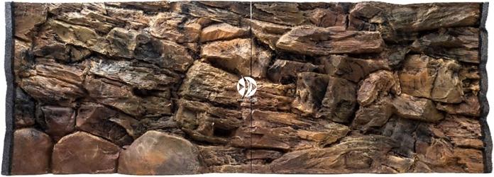 EKOL (Uszkodzone) Tło Skała 150x60 cm (SK150x60) - Tło do akwarium z motywem skał, imitujące biotopy bez roślin jak Malawi, Tanganika