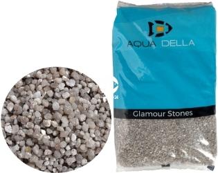 AQUA DELLA Gravel Quartz Grey (257-447635) - Naturalny żwir o drobnej granulacji (2-3mm) w odcieniach szarości.