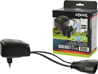 AQUAEL Socket link DUO (115314) - Sterownik akwarystyczny wi-fi do zasilania.