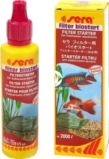 SERA Filter Biostart 50ml (03795) - Biostarter do filtrów