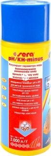 SERA pH/kH Minus (03540) - Preparat do bezpiecznego obniżania ph w akwarium słodkowodnym.