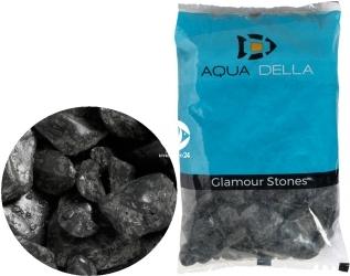 AQUA DELLA Gravel Pebbels Black (257-447598) - Naturalny żwir, kamienie  w ciemnym odcieniu