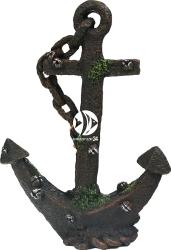 AQUA DELLA Anchor SM (234-106037) - Zardzewiała kotwica, dekoracja do akwarium