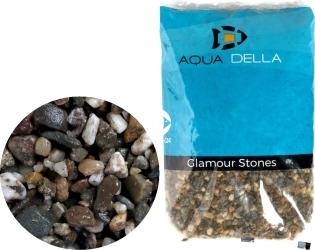 AQUA DELLA Gravel Dark Coarse (257-110751) - Naturalny żwir ciemny, podłoże do akwarium, nie zmienia parametrów wody.