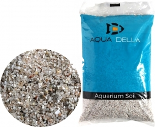 AQUA DELLA Sand Loire (257-447673) - Piasek dekoracyjny do akwarium stanowiący naturalne podłoże