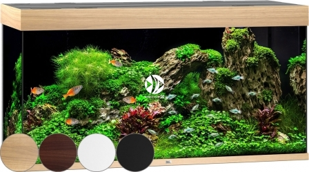 JUWEL Rio 350 HeliaLux Spectrum (07350HLS) - Akwarium z pełnym wyposażeniem bez szafki, 4 kolory do wyboru