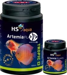 O.S.I. Artemia Flakes - Pływająco tonący pokarm dla mięsożernych ryb akwariowych i pielęgnic