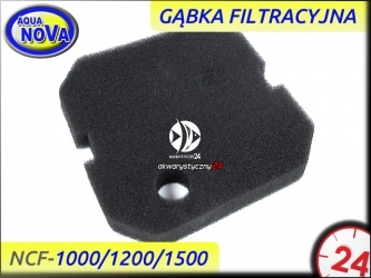 AQUA NOVA Gąbka filtracyjna czarna do filtra NCF-1000/NCF-1200/NCF-1500