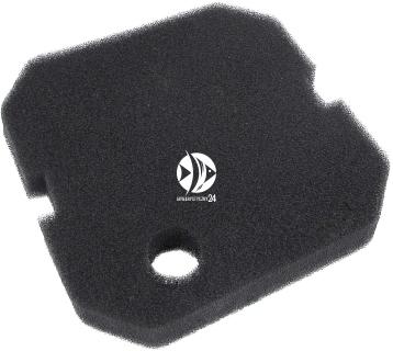 AQUA NOVA Czarna Gąbka NCF-2000 (NS2-SGB) - Wymienny wkład gąbkowy, czarna gąbka do filtra NCF-2000