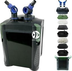 AQUA NOVA NCF-1000 (NCF-1000) - Filtr zewnętrzny do akwarium max. 300l