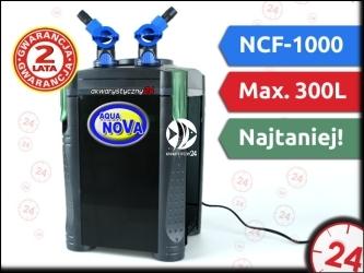 AQUA NOVA NCF-1000 - Filtr zewnętrzny do akwarium maks. 200l