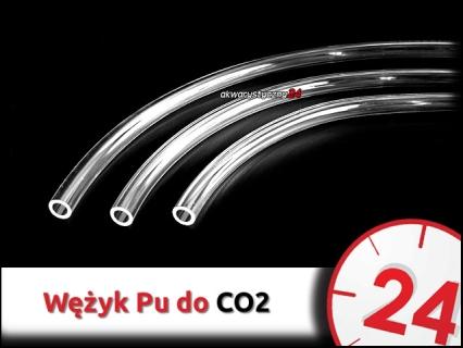 Wąż ciśnieniowy Pu 6x4mm [200m] do instalacji CO2