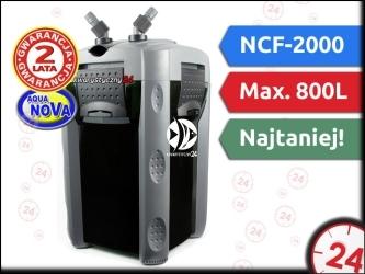 AQUA NOVA NCF-2000 | Filtr zewnętrzny do akwarium maks. 450l