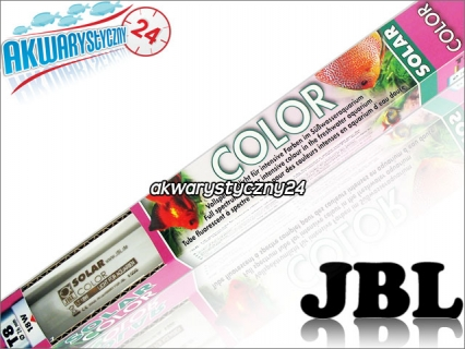JBL SOLAR COLOR T8 (61625) - Świetlówka T8 do akwarium wzmacniająca znacząco barwy ryb i wzrost roślin.