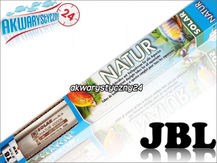JBL SOLAR NATUR T8 (61632) - Świetlówka T8 do akwarium słodkowodnego o pełnym spektrum światła.