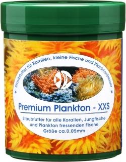 NATUREFOOD Premium Plankton XXS 45g (38520) - Pływający pokarm dla korali, narybku, ryb słodkowodnych i morskich