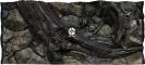 ATG Tło Amazonka (AM50x30) - Tło do akwarium z motywami korzeni i skał, imitujące biotop Amazonii. 120x60 cm