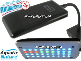 AQUATIC NATURE LED-36 RGB WHITE - Lampka do akwarium z 36 diodami led w 4 kolorach.