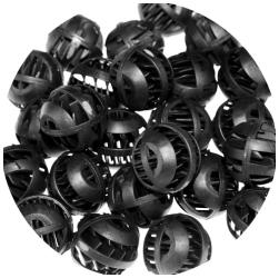 AQUA NOVA Bio Balls 1000 szt (NBB-1000) - Biobale, wkład mechaniczny do filtrów w akwariach i oczkach wodnych