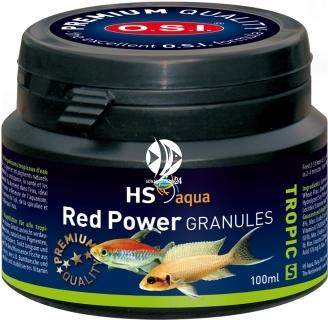 O.S.I. Red Power Granules (0030150) - Wolno tonący pokarm dla ryb morskich i słodkowodnych