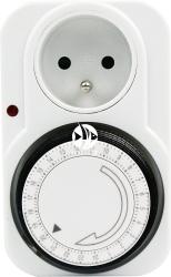 Programator Mechaniczny (Timer) - Automatycznie włącza i wyłącza urządzenia elektryczne jak światło, elektrozawory